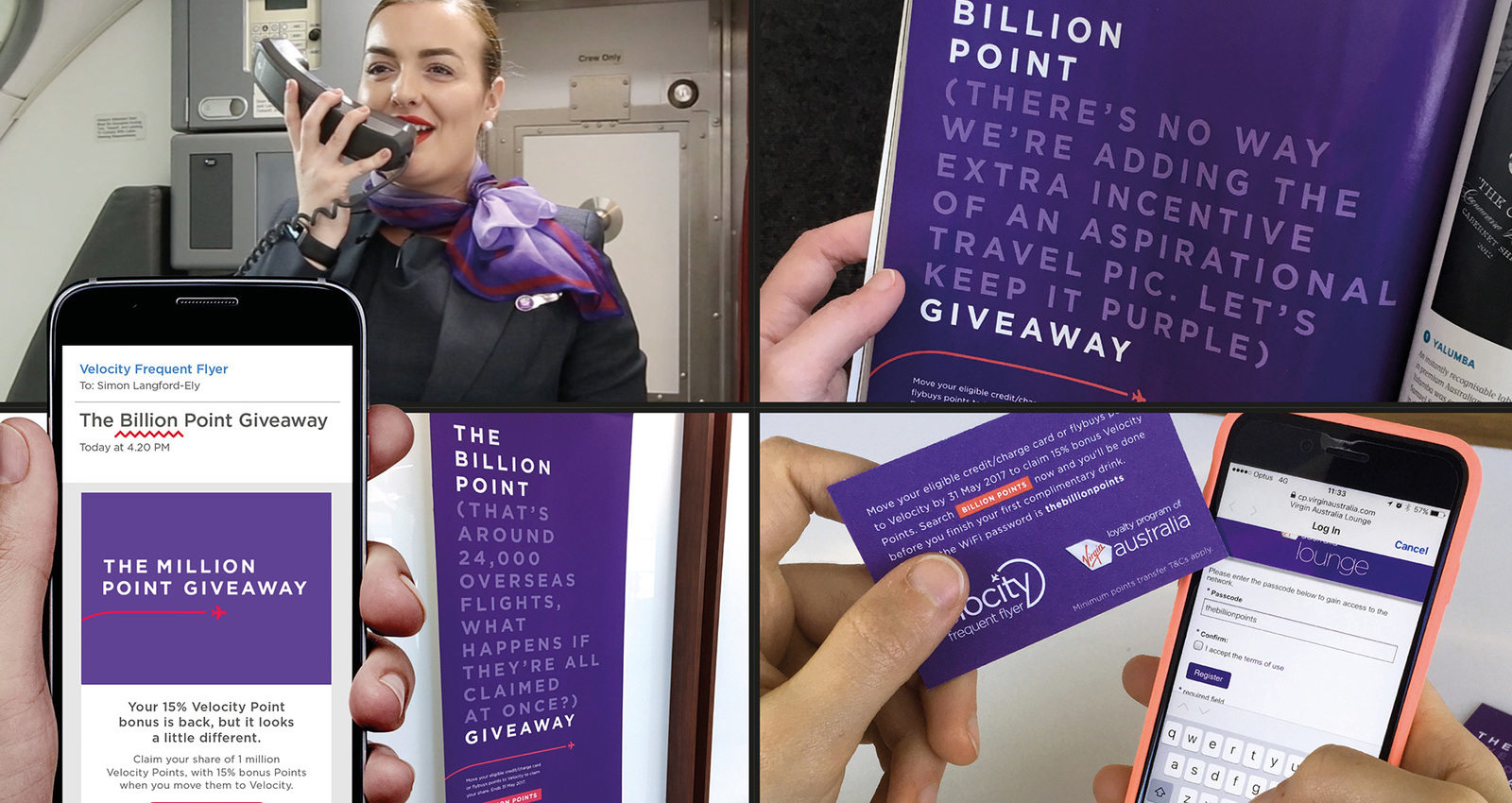 The Billion Point Giveaway