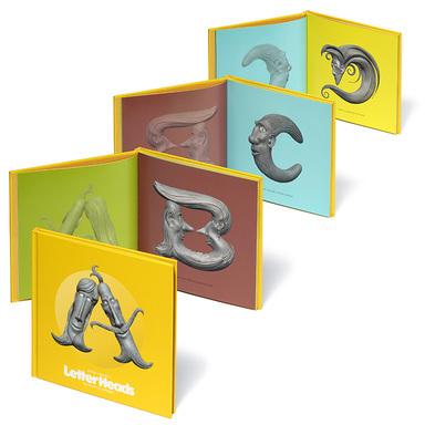 Stefan G. Bucher's LetterHeads : An Eccentric Alphabet