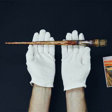 The Original Brushes of Edvard Munch