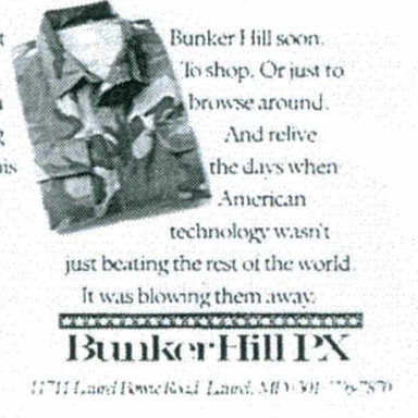 Bunker Hill PX