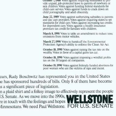Wellstone for U.S. Senate