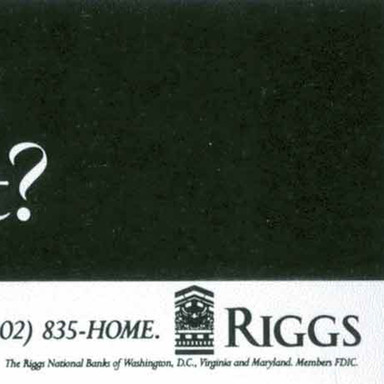 Riggs National Bank