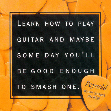 Reynold Guitar Lessons