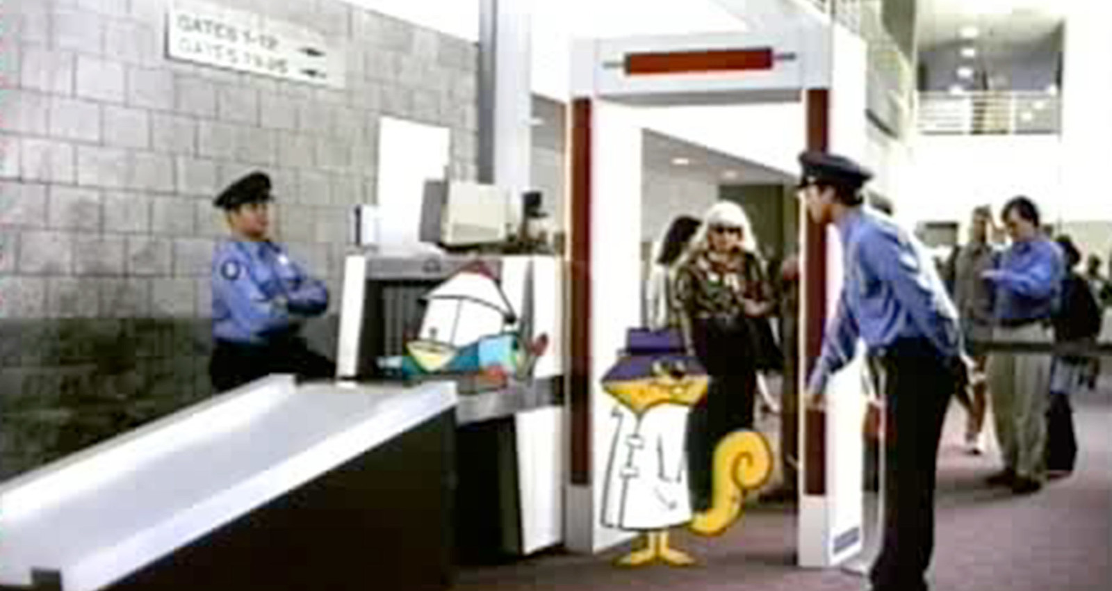 Clearly the Best Place Campaign - Secret Squirrel, Fred Car, Jane  Jetson Microwave