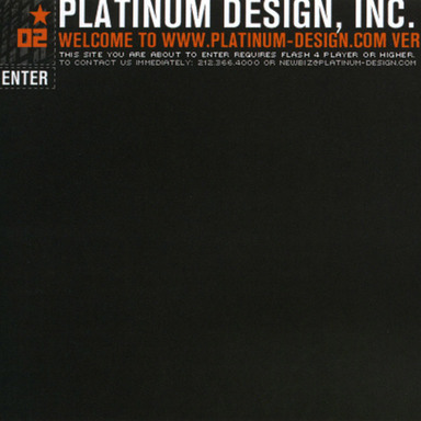 Platinum Design Website