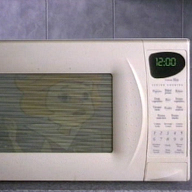 Clearly the Best Place - Jane Jetson Microwave