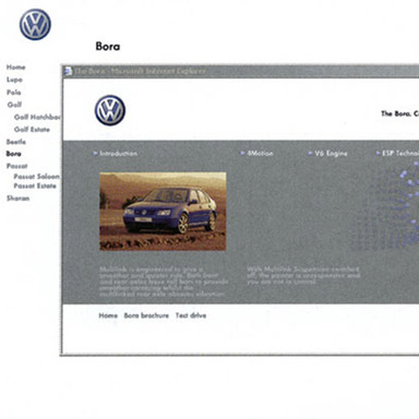 Volkswagen UK Site