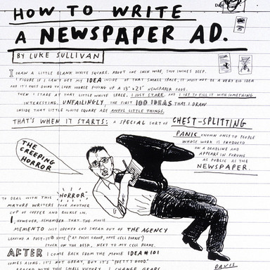 How to Create a Newspaper Ad: Luke Sullivan, Mike Hughes, Lee Clow