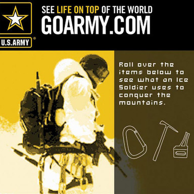 Army Online Advertising