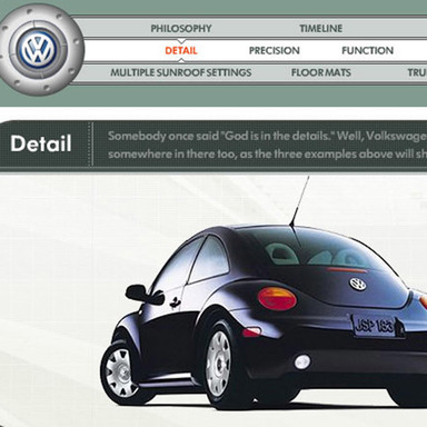 VW Integrated Branding