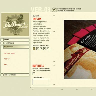 PeñaBrand Web Site
