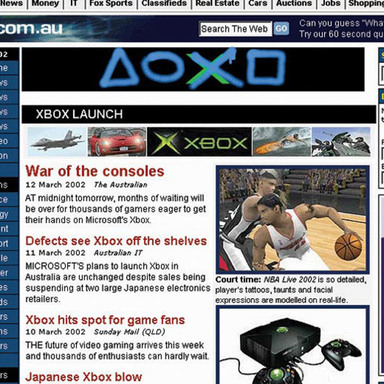 PlayStation's Xbox Ambush Banner