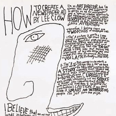 How to Create a Newspaper Ad by Lee Clow