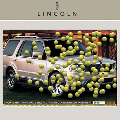 Lincoln Navigator-US Open Tennis Ball Game