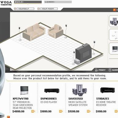 Sony Home Theatre Web Site