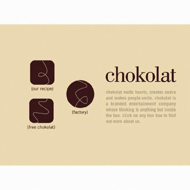 Chokolat Web