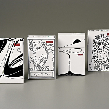 Carlton Packs - Limited Editions - Art Nouveau
