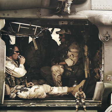Pararescue Jumpers, 7th Marines, 16 Air Assault, Desert Rats