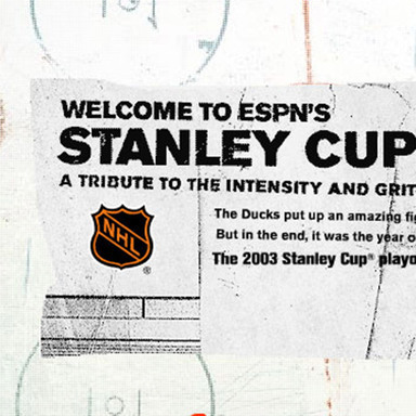 NHL web site