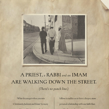 A Priest, a Rabbi and an Iman