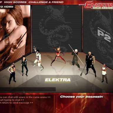 Elektra - Ninja Assassin Game