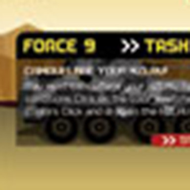 NZ Army Force 9 Banners