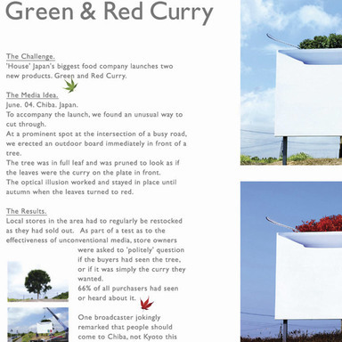 Green & Red Curry