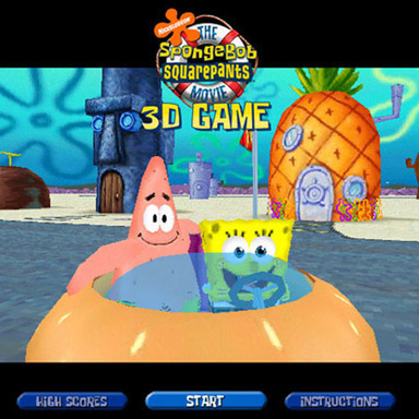 SpongeBob Movie 3D Game