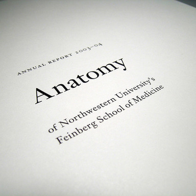 Anatomy Annual Report