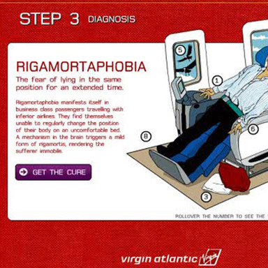 Virgin Atlantic Phobias Self-help