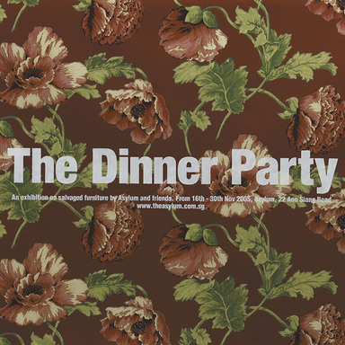 Dinner party posters