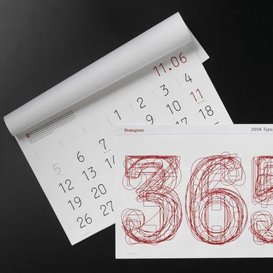2006 Typography Calendar