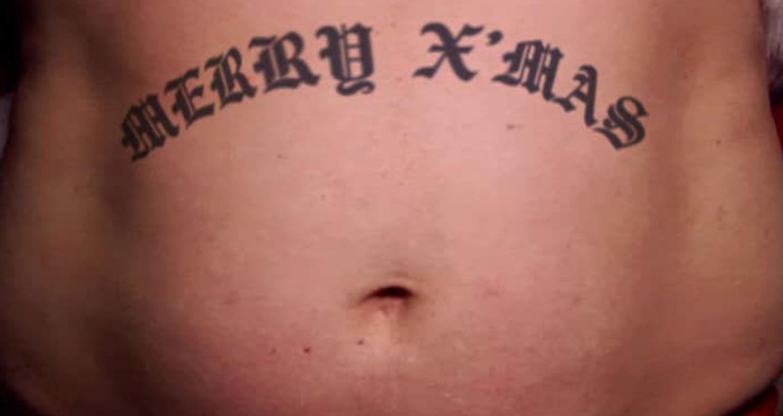 R/GA Tattoo Santa 2007