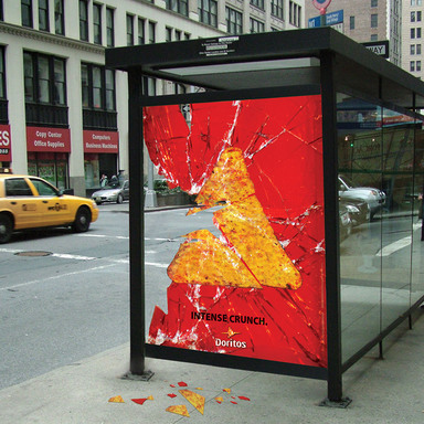 "DORITOS ""BUS SHELTER"""