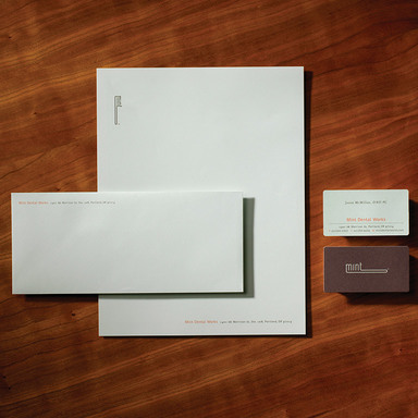 Mint Dental Works Identity