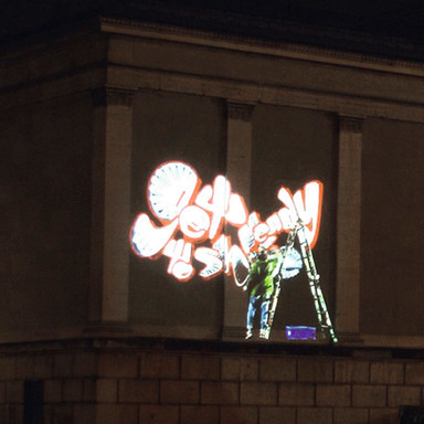 Graffiti Projections MTV Awards