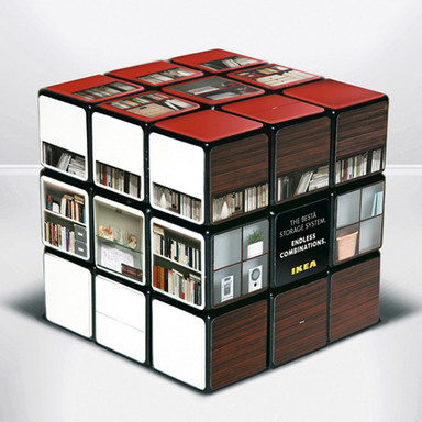 The BESTÅ-Cube