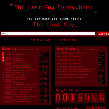 The Last Guy Everywhere