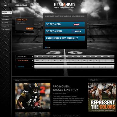 Nike Football Head2Head