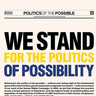 Politics of Possibility