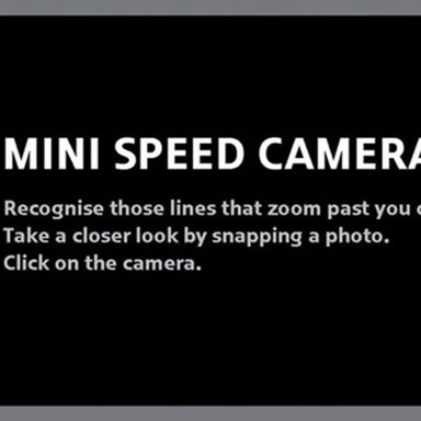 Speed Camera - MINI Cooper S