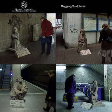 Begging Sculptures