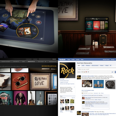 Hard Rock Interactive Memorabilia