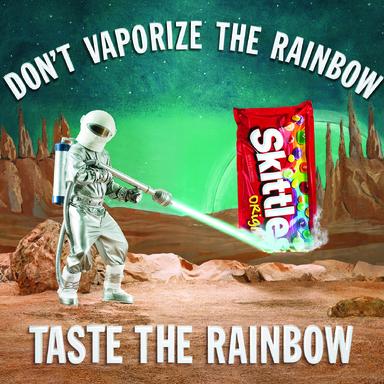 Don't Blank the Rainbow