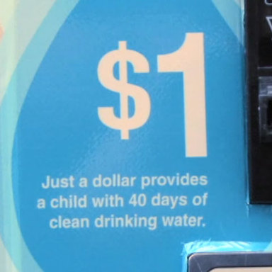$1 for Dirty Water