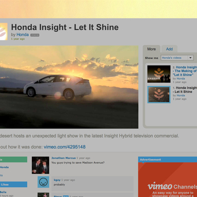 Let It Shine Vimeo Takeover