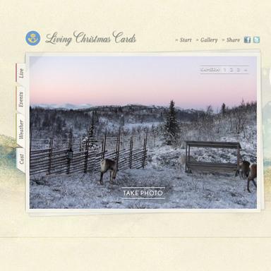 Living Christmas Cards