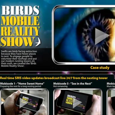 BIRDS MOBILE REALITY SHOW