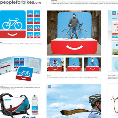 People For Bikes Identity Campaign