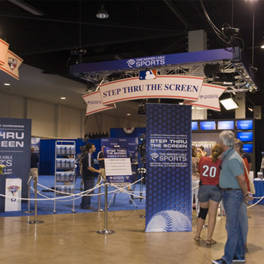 TWC Step Thru the Screen at MLB All Star FanFest